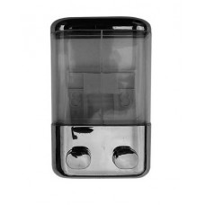 Дозатор для жидкого мыла двойной 2х0,4л.