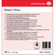 Кислотное моющее и дезинфицирующее средство Dosyl 3 Plus