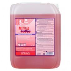 Кислотное средство для генеральной очистки санитарных зон MILIZID KRAFTGEL 10 л.