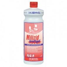 Кислотное средство для генеральной очистки санитарных зон MILIZID KRAFTGEL 1 л.