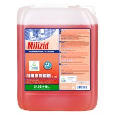Кислотное средство для очистки санитарных зон MILIZID 10 л.