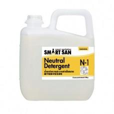 Концентрированное средство для мытья посуды Saraya Smart San N-1