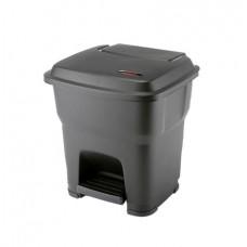 Гера контейнер пластиковый с педалью и крышкой 35 л Vileda 137749