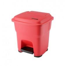 Гера контейнер пластиковый с педалью и крышкой 35 л Vileda 137746