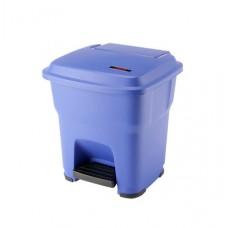 Гера контейнер пластиковый с педалью и крышкой 35 л Vileda 137747