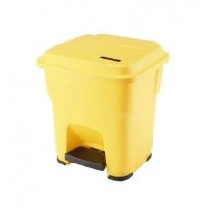 Гера контейнер пластиковый с педалью и крышкой 35 л Vileda 137748