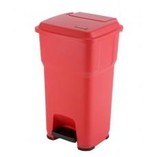 Гера контейнер пластиковый с педалью и крышкой 60 л Vileda 137752
