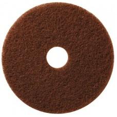 Круг TASKI Americo 11 дюймов (28 см), коричневый (агрессивная чистка)