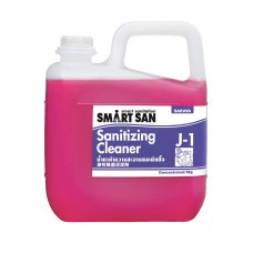 Обезжиривающее щелочное средство с антибактериальным эффектом Saraya Smart San J-1