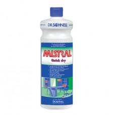 Слабощелочное средство для очистки глянцевых поверхностей MISTRAL Quick Dry 1 л.