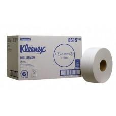 Туалетная бумага Kimberly-Clark KLEENEX Ultra Midi Jumbo, двухслойная в больших рулонах 8515