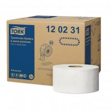 Туалетная бумага в мини рулонах Tork Advanced 120231