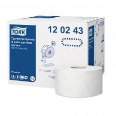 Туалетная бумага в мини рулонах Tork Premium 120243