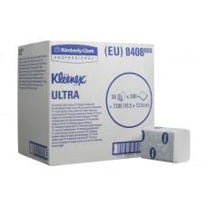 Туалетная бумага в пачках KLEENEX  Ultra 8408 двухслойная