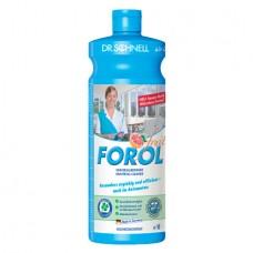 Универсальное средство для очистки водостойких поверхностей FOROL 1 л.
