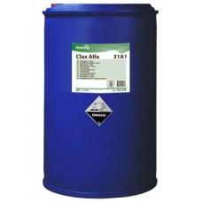 Жидкий щелочной стиральный порошок для удаления жировых и масляных загрязнений Clax Alfa 31A1 200л