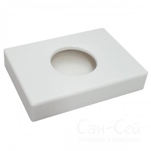 Диспенсер для гигиенических пакетов Ksitex PH-1016W белый, пластиковый