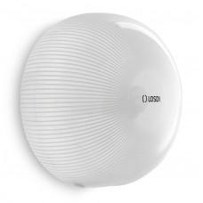 Держатель туалетной бумаги LOSDI CP5006B-L STAR LINE, белый, поликарбонат