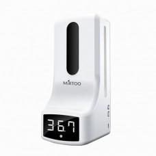 Дезинфектор для рук с встроенным измерителем температуры MIRTOO K9 1000 мл, сенсорный