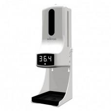 Дезинфектор для рук с встроенным измерителем температуры MIRTOO K9 Pro 1000 мл, сенсорный
