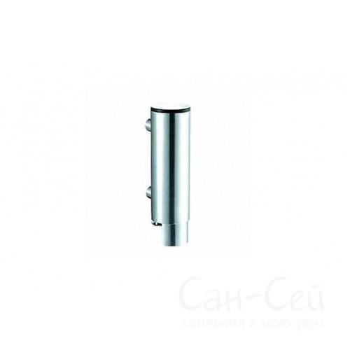 Дозатор для жидкого мыла Nofer 03024.B, наливной, механический, хромированый