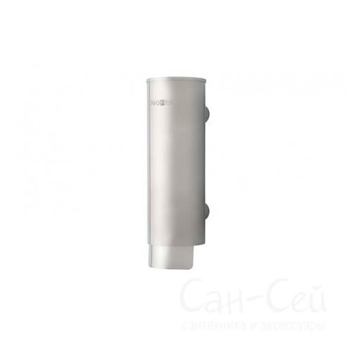 Дозатор для жидкого мыла Nofer 03024.S, наливной, механический, матовый