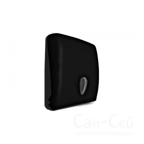 Диспенсер для бумажных полотенец V-сложения Nofer 04020 С, черный