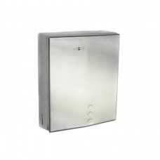 Диспенсер для бумажных полотенец Nofer 04006.S металлический, матовый