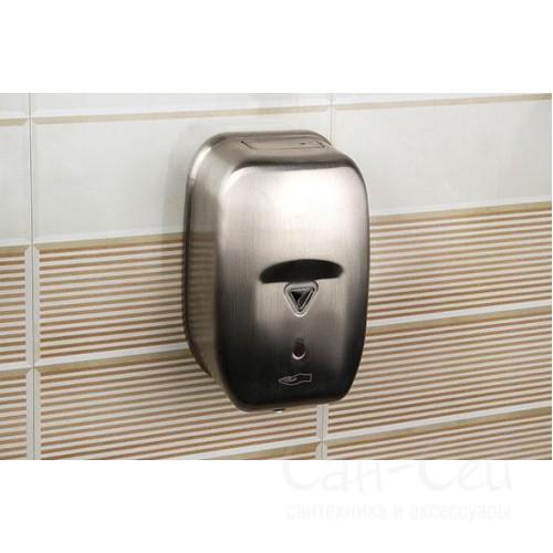 Дозатор для жидкого мыла Nofer 03023.S матовый, сенсорный
