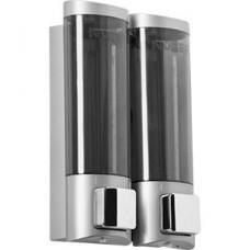 Дозатор для жидкого мыла Nofer 03032.T, наливной, двойной