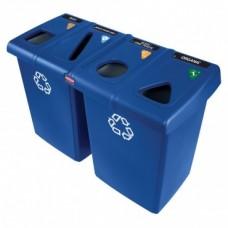 Комплект для раздельного сбора мусора  Rubbermaid Glutton 1792372