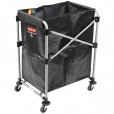 Тележка для белья Rubbermaid X-Cart 1871643 на 150 литров, на колесах