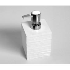 Дозатор для жидкого мыла WasserKRAFT Leine K-3899, белый