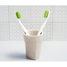 Стакан для зубных щеток WasserKRAFT Ohre K-37728, белый