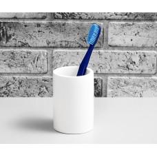 Стакан для зубных щеток WasserKRAFT Berkel K-4928, белый