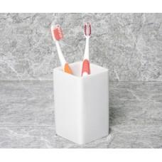 Стакан для зубных щеток WasserKRAFT Oder K-9628, белый