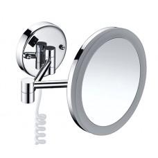 Зеркало WasserKRAFT K-1004 настенное, увеличительное, с LED-подсветкой